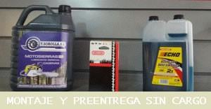 Pack Regalo Talleres Sorolla, aceite de cadena 5l + envase de aceite sintético 1l + cadena de repuesto